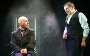 Adam Best and George Costigan in Crime and Punishment Photo: Tim Morozzo