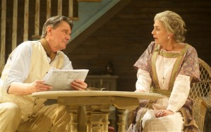 Paul Shelley as James Tyrone and Diana Kent as Mary Tyrone in Long Day's Journey into Night Photo: Alan McCredie