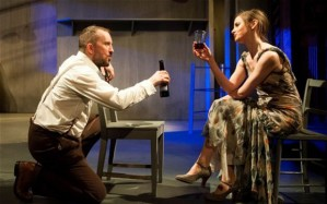 Keith Fleming and Louise Brealey in Miss Julie