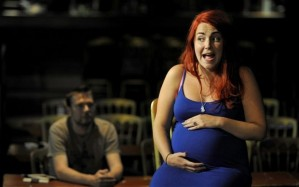 Victoria Bianchi in The Great Yes, No, Don't Know 5 Minute Theatre Show