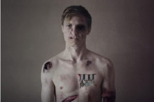 Valentijn Dhaenens plays a series of characters in Small War