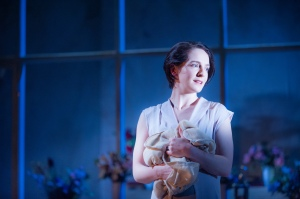 Nicola Daley as Hedda Gabler.         Photo: Tommy Ga-Ken Wan