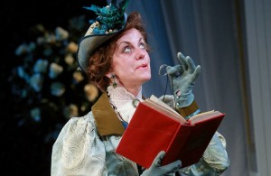 Margaret Preece as Lady Bracknell in The Importance of Being Earnest. Photo: Douglas McBride