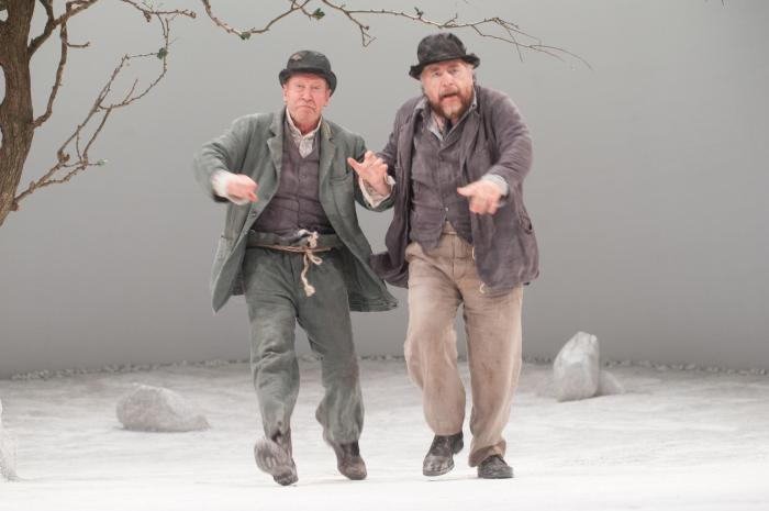 Bill Paterson and Brian Cox in Waiting for Godot. Photo: Alan McCredie