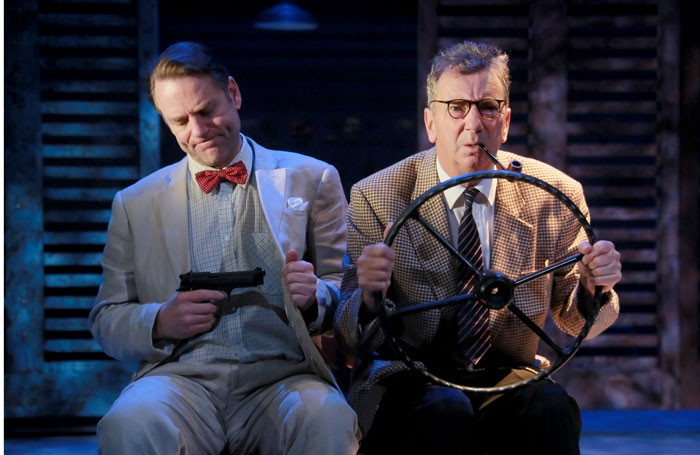 Andrew Loudon and Roger Delves-Broughton in Our Man in Havana. Photo: Douglas McBride