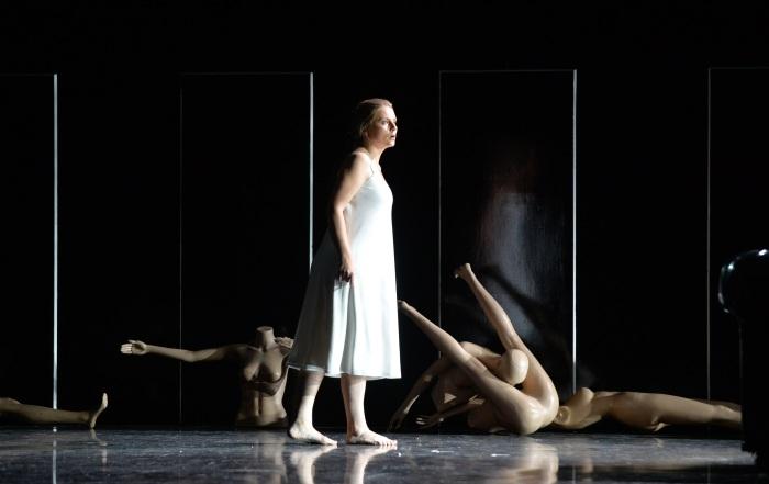 Rigoletto - Lina Johnson as Gilda in Rigoletto. Photo - Julie Howden